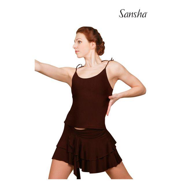Top de camisola de baile latino W1003P TRINITA