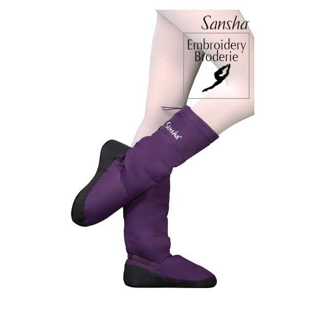 Booties de calentamiento de ballet WOOM-3 JETE ARTIKA