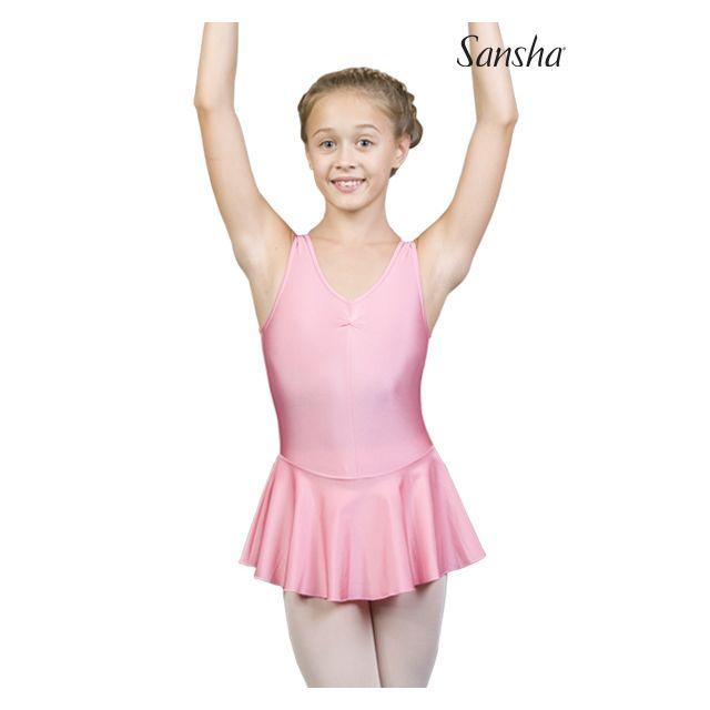 Maillot de camisola con falda para niños ISTD XY2706N IDELLE