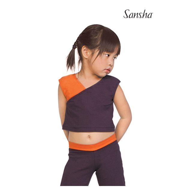 Camiseta corta sin mangas para niños Y2020 SIDNEY