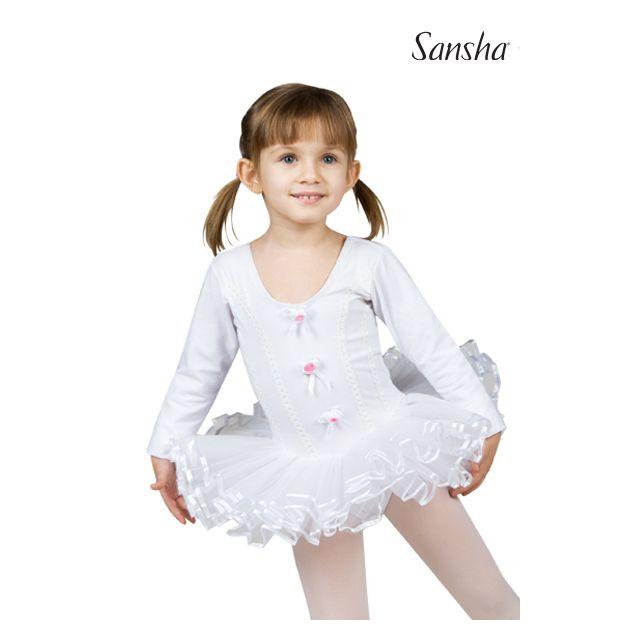 Vestido con tutú para niños Y4801C ALICE