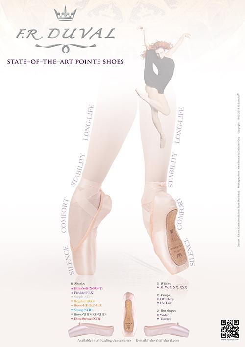 F.R.Duval Pointe Shoes